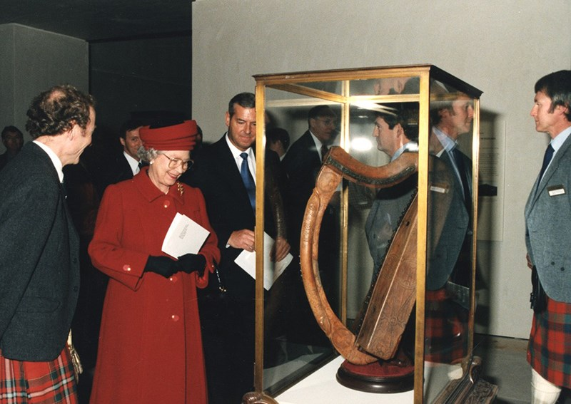 1998 - Queen Elizabeth II opens the National Museum of Scotland in the old Victorian Royal Museum building in Edinburgh, with substantial support from the American Foundation, creating a permanent home for significant Scottish collections.