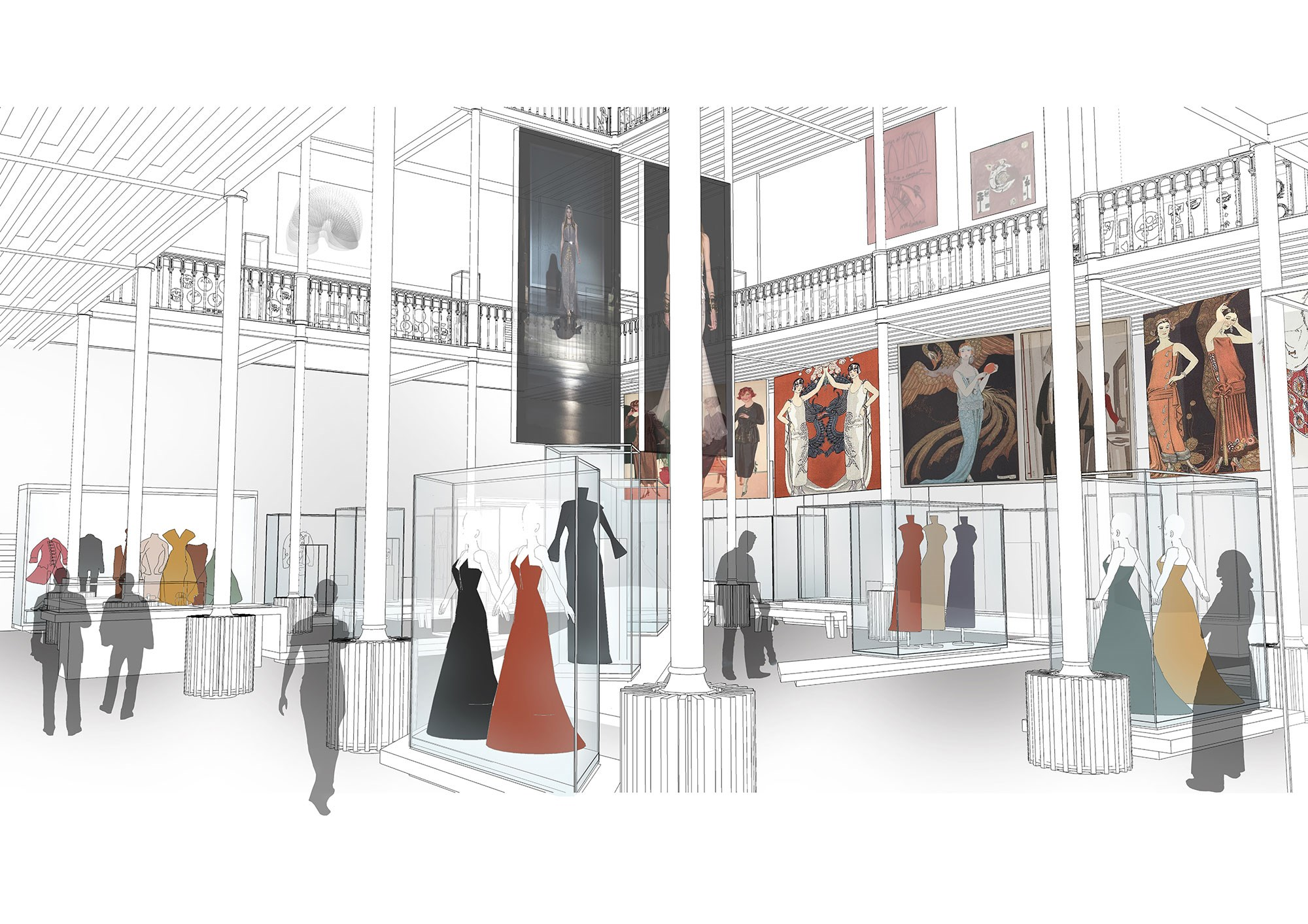 2014 - National Museums Scotland announced the nest stage of the £80 million Masterplan, continuing to restore the much loved Victorian building to its former grandeur. Supporters of the American Foundation enabled the project of creating ten new galleries to get underway.